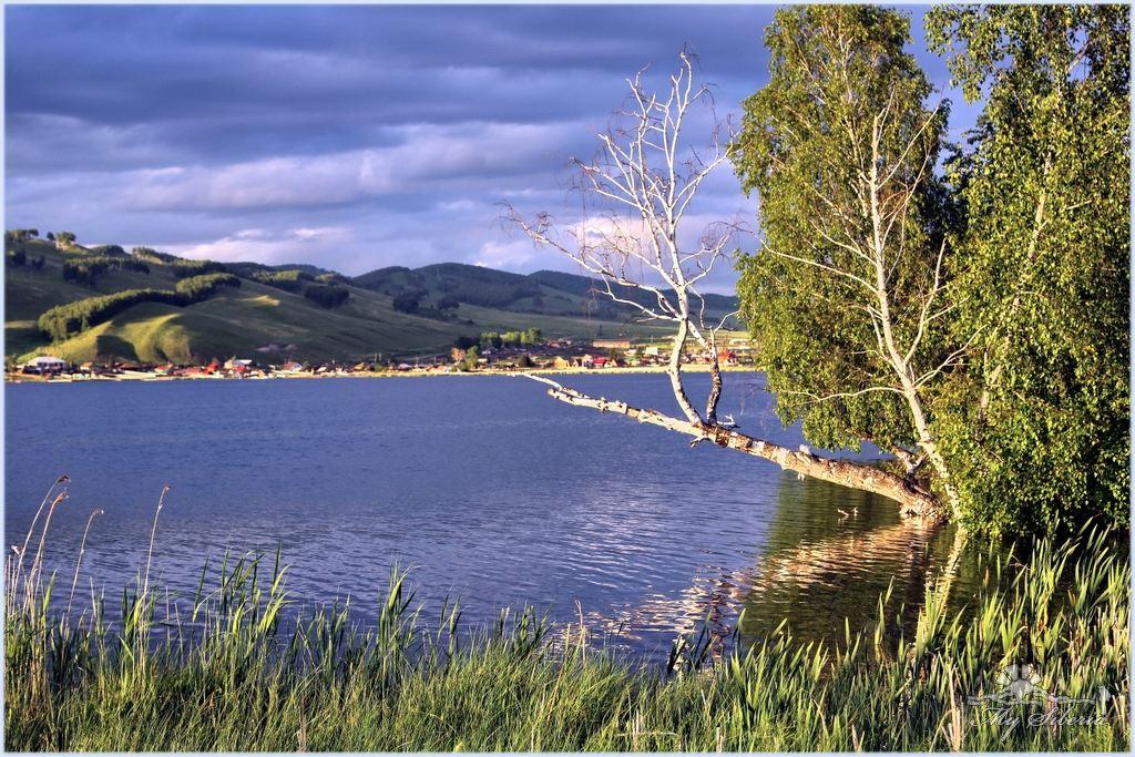 озеро большое красноярский край фото круглых
